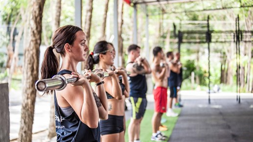 Fitness in Thailand
