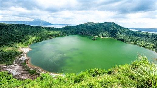 Go and visit Taal Lake in the Philippines